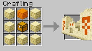 Minecraft UHC but you can craft DESERT TEMPLES...?