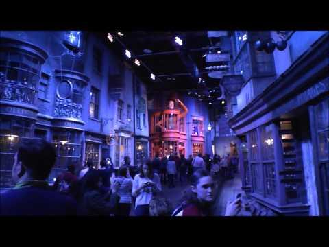 Harry Potter World in Watford nr London, England UK. How filmed / made Studio Tour Warner Brothers