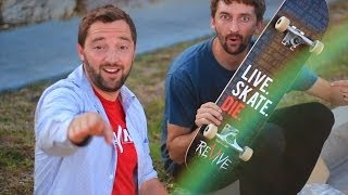 AARON KYRO AND ANDY SCHROCK SET UP A BOARD!