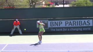 Monica Niculescu: How to play great tennis with weak stroke