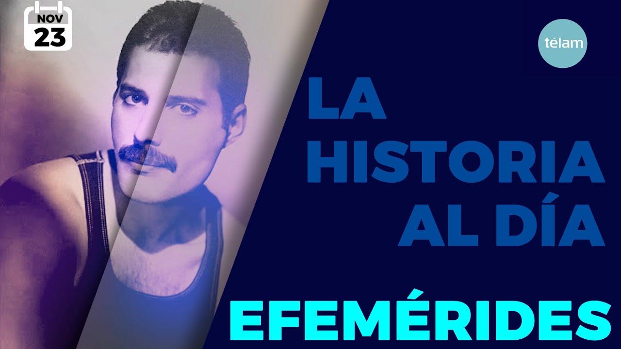 LA HISTORIA AL DIA (EFEMERIDES 23 NOVIEMBRE)