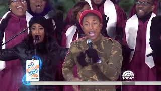 Watch Pharrell Williams Perform His New Song Runnin Live