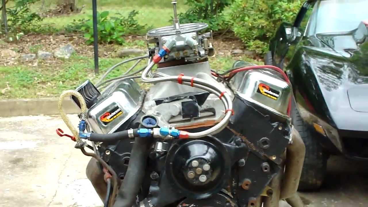 Nasty 468 Block Chevy Engine Start Up Crazy Cam Insane Exhaust High Tech Rednecks You