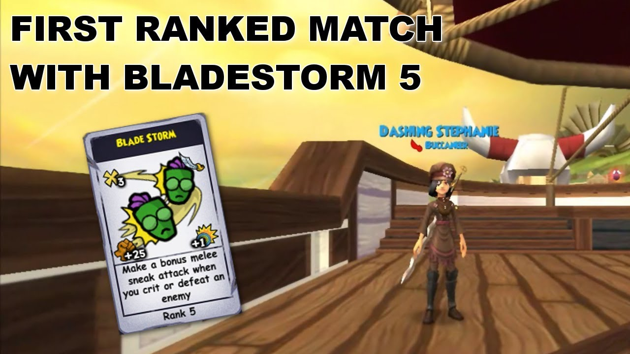 Pirate101: First Ranked Match with Bladestorm 5 by Stephanie Dawnheart