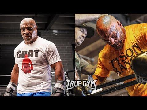 Тренировки Майка Тайсона / Подготовка к бою с Роем Джонсом / Нереальная форма Тайсона в 54 года