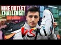 NIKE OUTLET STORE SNEAKER SHOPPING CHALLENGE! (Factory Store VS Clearance)