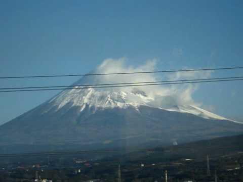 monte Fuji desde tren Hikari.MPG
