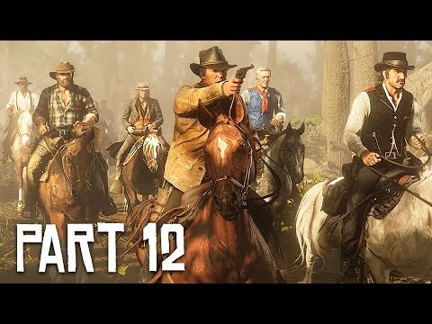 Red Dead Redemption 2 Gameplay Walkthrough, Part 12!! (RDR 2 PS4 Gameplay)