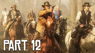 Red Dead Redemption 2 Gameplay Walkthrough, Part 12!! (RDR 2 PS4 Gameplay)