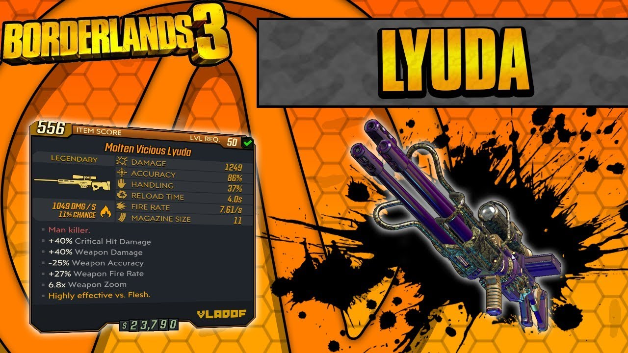 Borderlands 3 | Lyuda Legendary Weapon Guide (Destroys Everything!) thumbnail