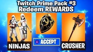 TWITCH PRIME PACK #3 RELEASE DATE! COMING in SEASON 6 - Fortnite TWITCH PRIME PACK #3