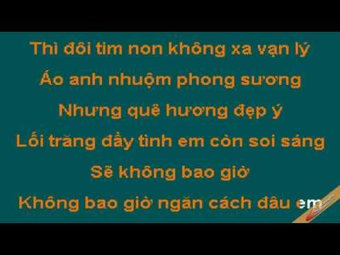 Karaoke - Không bao giờ ngăn cách - [Beat chuẩn] - Yeucahat.mobi