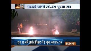 Toxic smog covers Delhi post Diwali celebrations