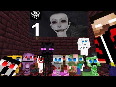 Monster School: Eyes The Horror Game Challenge - Minecraft Animation 2019