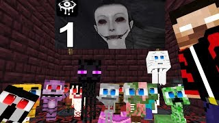 Monster School: Eyes The Horror Game Challenge - Minecraft Animation 2019