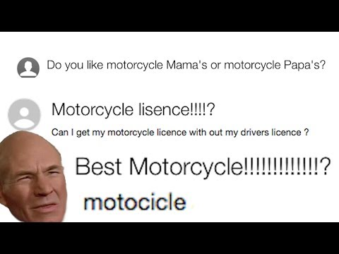 Yahoo Answers - Motorcycle Edition