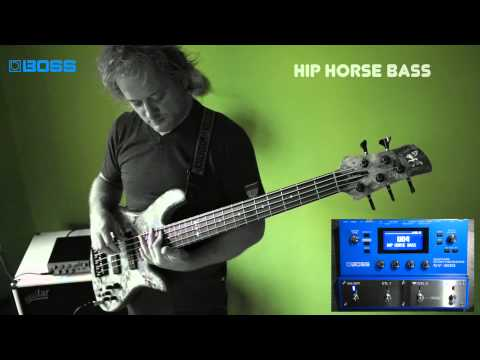 [BOSS TONE CENTRAL]POP Synth Bass Collection by Tamas Barabas