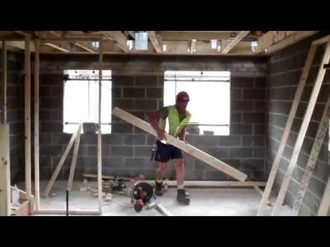 New Homes – High Speed First Fix Carpentry in Plot 3 – by Wonderful Homes