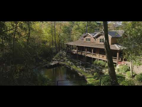 big-waterfall-at-cashiers,-nc-mountains-home---'the-falls-at-rochester-drive'