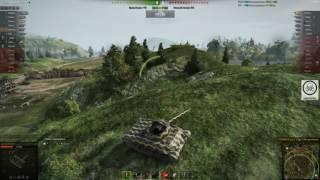 Интересные позиции, карта Топь, нижняя база, танк т-67, патч 9.15.1
