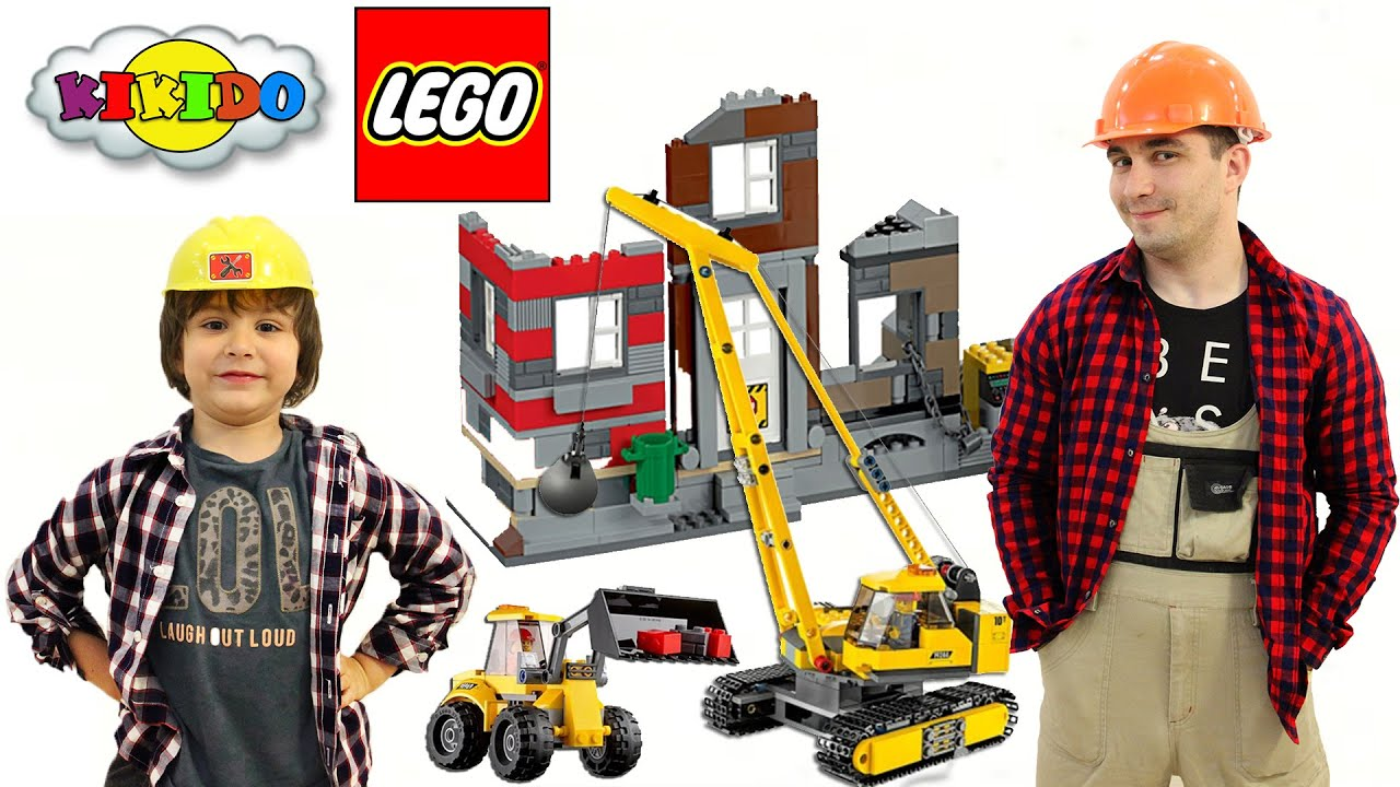 Demolition Bulldozer / Бульдозер - Lego City / ЛЕГО Сити - 60074 .
