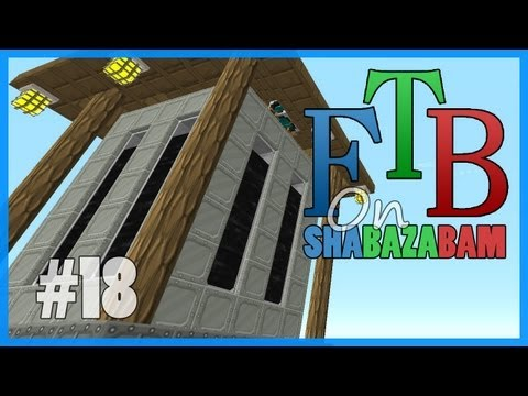 Minecraft FTB - Ep.18 - Biofuel Facility Base Upgrades and Oil Tank