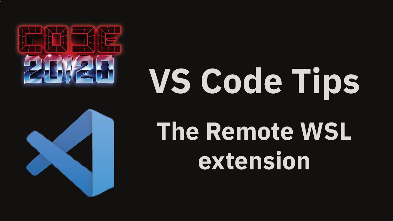 The Remote WSL extension