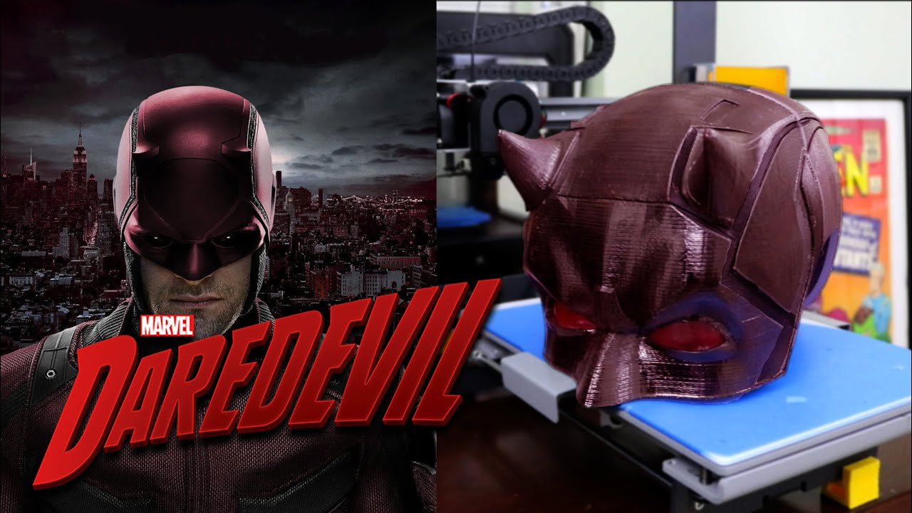 Replika Watch How To Make A Daredevil Mask / Replica Prop For Cosplay