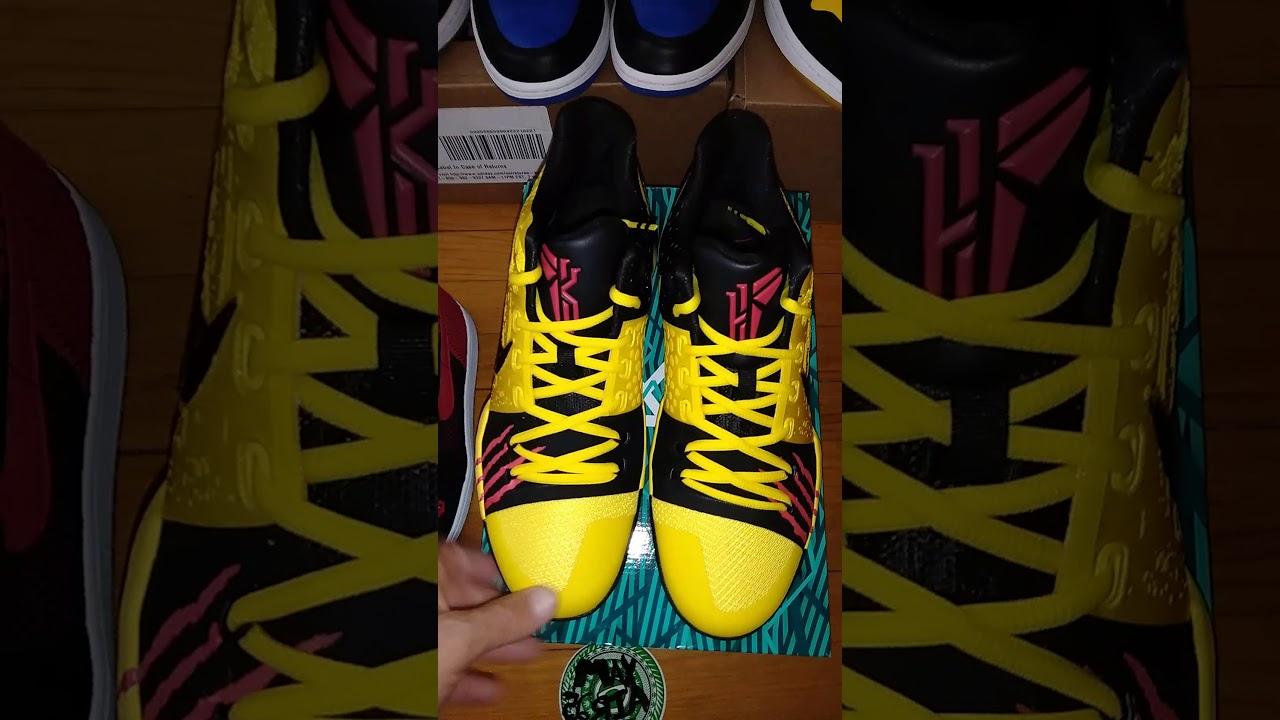 a7046ee27aef Nike Kyrie 3 Mamba Mentalitiy Kyrie 3 Bruce Lee pt1 on feet coming tomorrow  morning Sunday 9 17 17