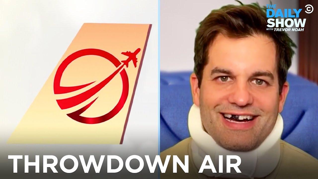 Throwdown Air: An Airline for A**holes   The Daily Show