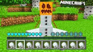 Minecraft: ZMIENIŁEM SIĘ W BAŁWANA! | Jak Grać Jako BAŁWAN!