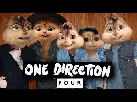 One Direction - Four (Full Album) Official Chipmunks Version