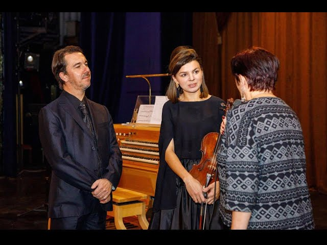Interview with Silvio Celeghin and Daria Eibuschitz Yoshkar Ola 2019 gg.