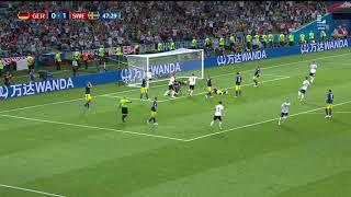 El primer gol de Alemania en Rusia 2018 | Alemania vs Suecia