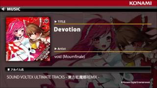 Devotion / SOUND VOLTEX ULTIMATE TRACKS -東方紅魔郷REMIX-