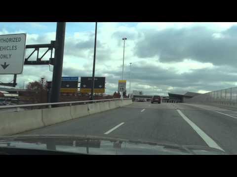Driving Rt.100 - I-95 - 195 - BWI Airport