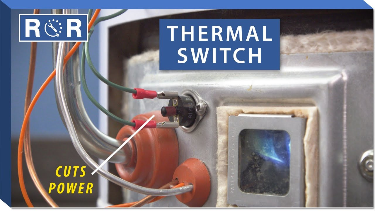 Water Heater Thermal Cutoff Switch Repair And Replace Youtube