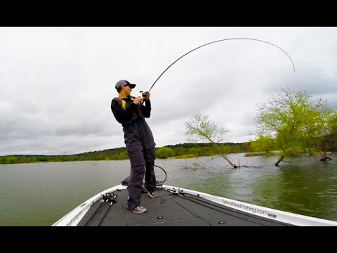 Shallow Cover Flipping For Bass!! That's a Big One! - YouTube