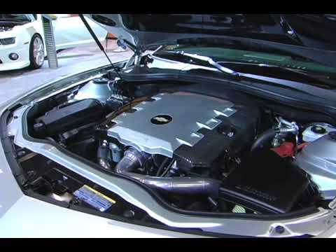 Jay Leno's Twin Turbo V6 Camaro @ SEMA 2009 - YouTube