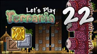 Let's Play Terraria 1.3.5 | Wall Of Flesh & BIGGEST Crate Unboxing Ever! [Episode 22]