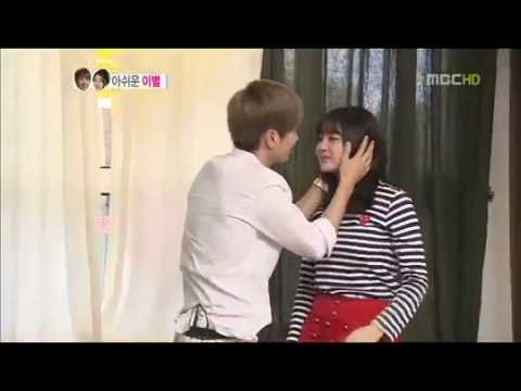 WGM  Leeteuk and Kang Sora KISS ! GoodBye  YouTube