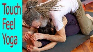 Meet Britain's 'most touchy-feely yoga teacher'