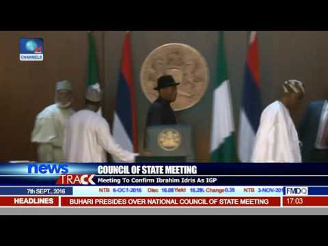 Council Of State Meeting: Buhari Meets With Former President, Governors, Others