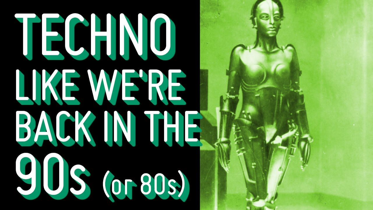 Lets create Techno like we're back in the 90s (or 80s?)