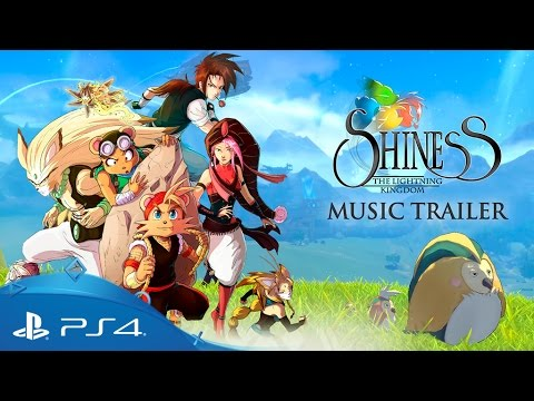 Shiness: The Lightning Kingdom | Music Trailer – Release Date Reveal | PS4