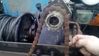 Установка лебідки газ 66 на трактор Т 40