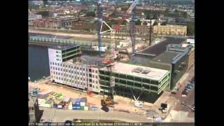 Timelapse Rtv Rijnmond Building - Rotterdam