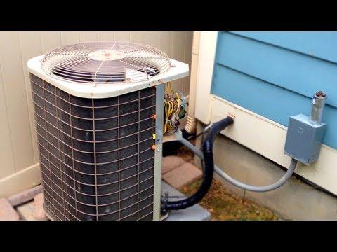 AC Fan Not Working - How to repair broken Air Conditioner HVAC Run Start Capacitor