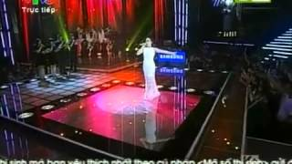 [Full] - Huong Tram - The Voice 2013 - It's not goodbye - Liveshow 5