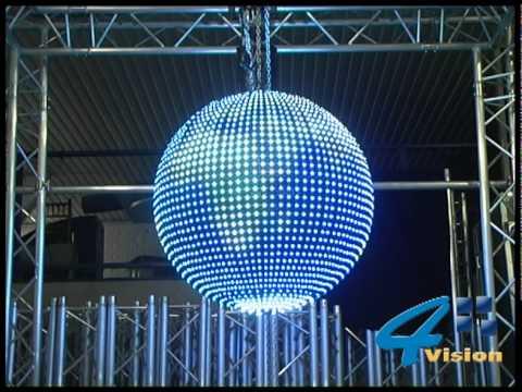 Xphere  -Sphere led screen - video disco ball - globe display